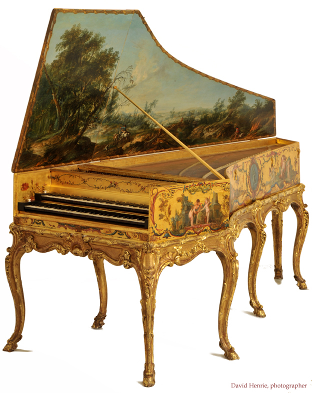... double-manual harpsichord, originally a transposing harpsichord