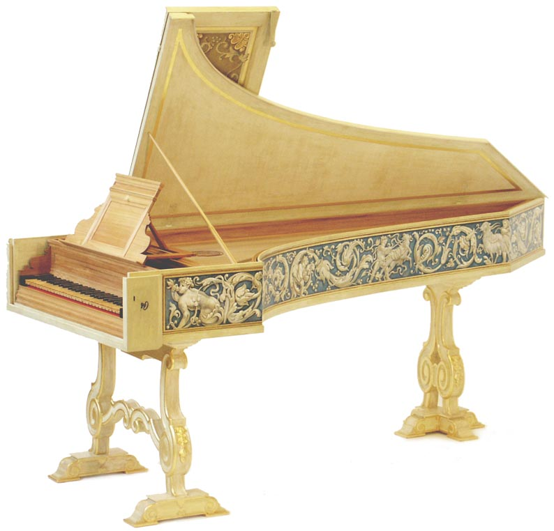 Four Neapolitan Harpsichords By Grant OBrien And Graziano