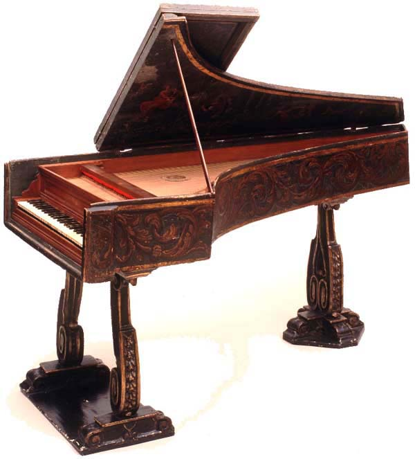 Anonymous Neapolitan harpsichord, Russell Collection