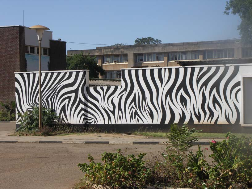 01 The Wall At Evelyn Hone College Lusaka